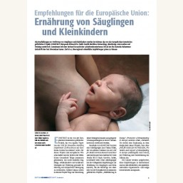 Ernährung von Säuglingen und Kleinkindern