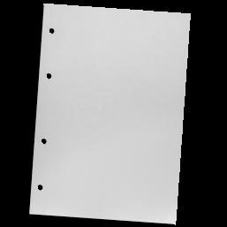 Organizerkomponente - Schutzblatt