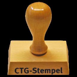 CTG-Stempel, Holz
