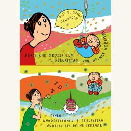 "Glückwunschkarte ""Geburtstag"" im Set"