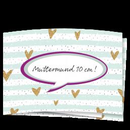 """Karte """"Lachender Muttermund"""""""