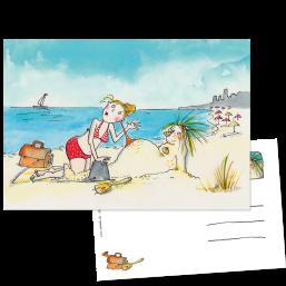 "Postkarte ""Strandperle"""